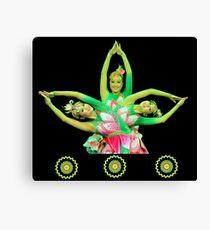 Lotus Dancers Canvas Print