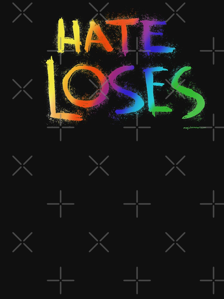 Hate Loses (Rainbow) by magichammer