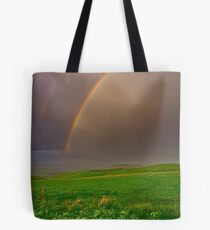 """""""A Late Afternoon Shower"""" Tote Bag"""