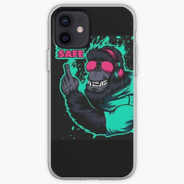 with big teeth iPhone Soft Case