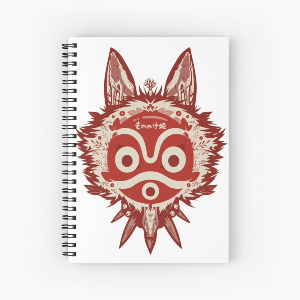 Princess Mononoke Miyazaki Mask Artwork Art Print By Lorenzognech Redbubble