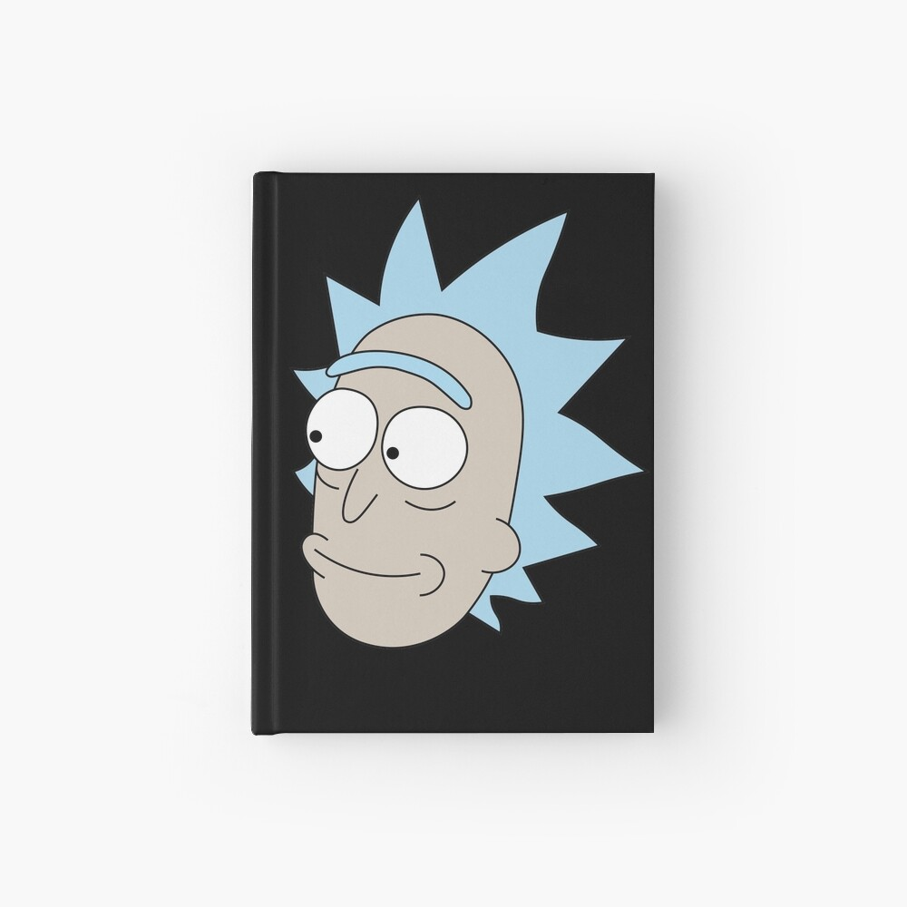 Rick Sanchez and Beth Smith from Rick and Morty ™ Hardcover Journal