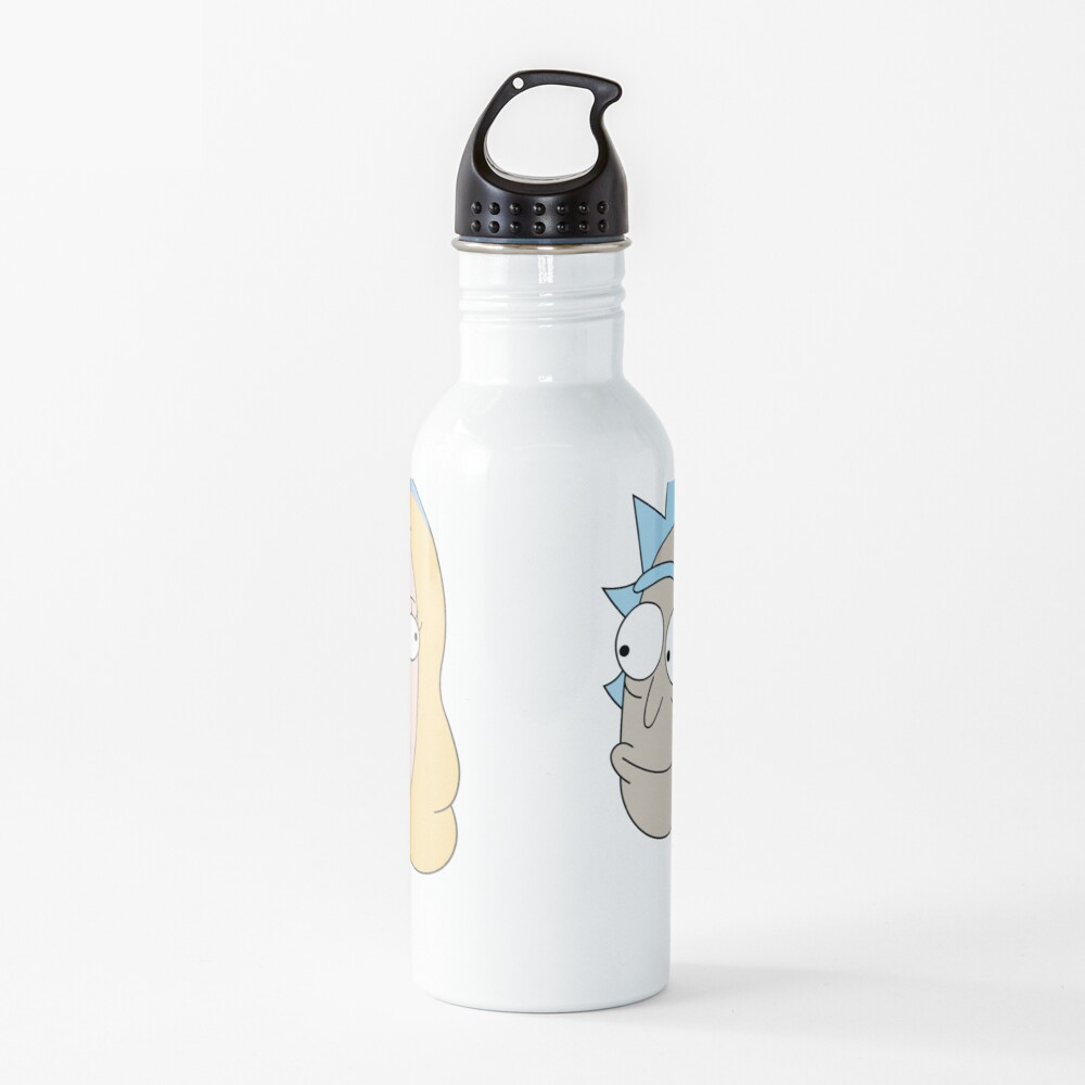Rick Sanchez and Beth Smith from Rick and Morty ™ Water Bottle