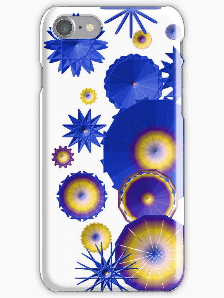 Whimsical iphone case by Elaine  Manley