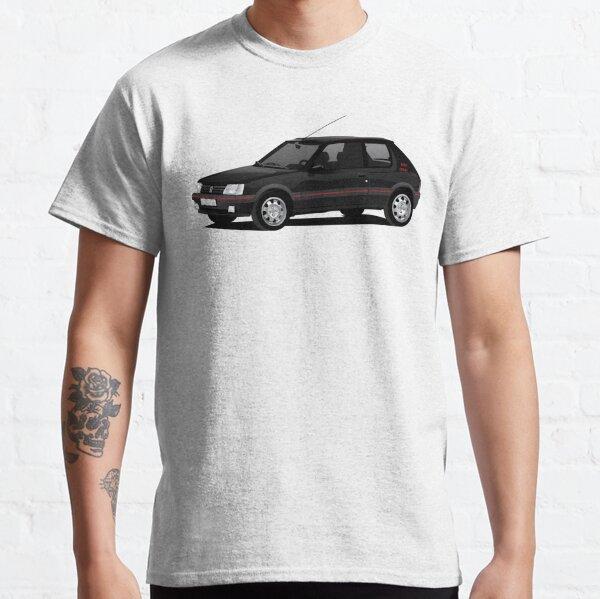 Peugeot 205 GTi noir T-shirt classique