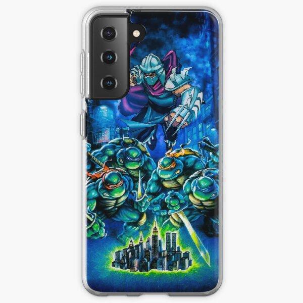 TMNT hyper stone Manhattan Samsung Galaxy Soft Case