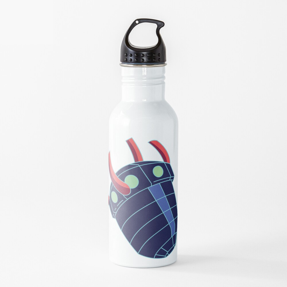 Rick Sanchez's Heart Metal Shield from Rick and Morty ™ Water Bottle