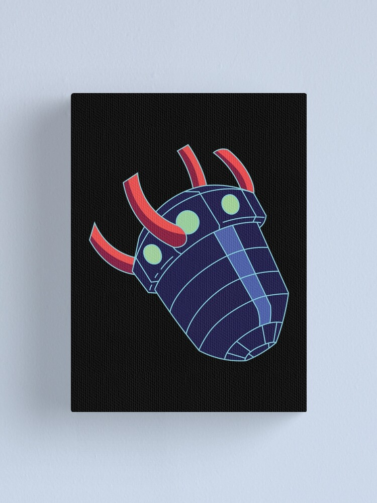Alternate view of Rick Sanchez's Heart Metal Shield from Rick and Morty ™ Canvas Print