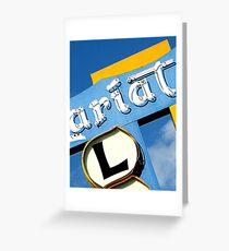 Lariat 2 Greeting Card