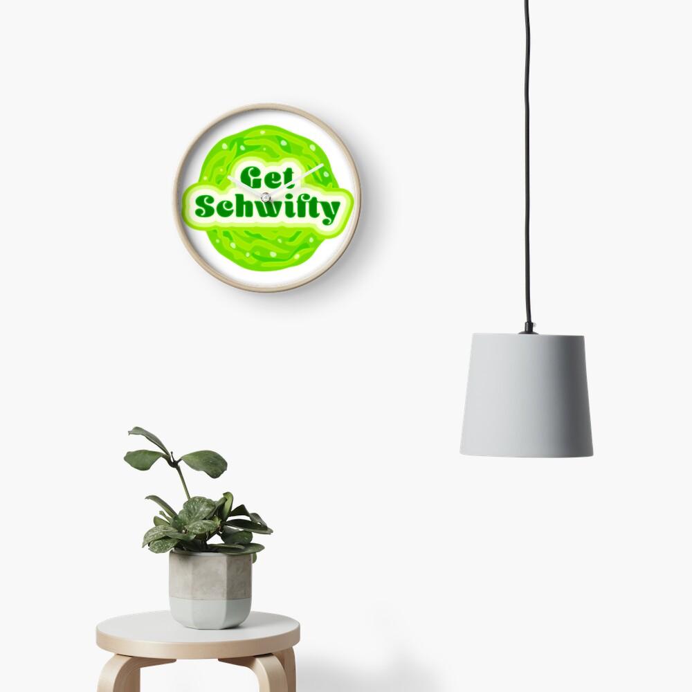 Get Schwifty Clock
