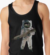 Astro the fun naut: WITH A LAZAR GUN!!!! Tank Top