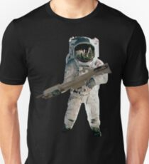 Astro the fun naut: WITH A LAZAR GUN!!!! Unisex T-Shirt