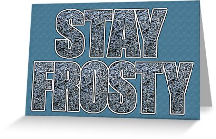 frosty card by dedmanshootn