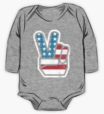 American Peace One Piece - Long Sleeve