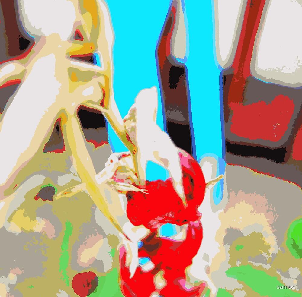 Red Fallen Glad by samos