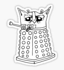 Dalek Owl Sticker