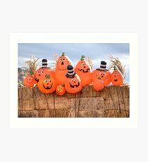 Pumpkin Brothers Art Print