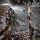 Waterfall Fairy by Peter Hammer