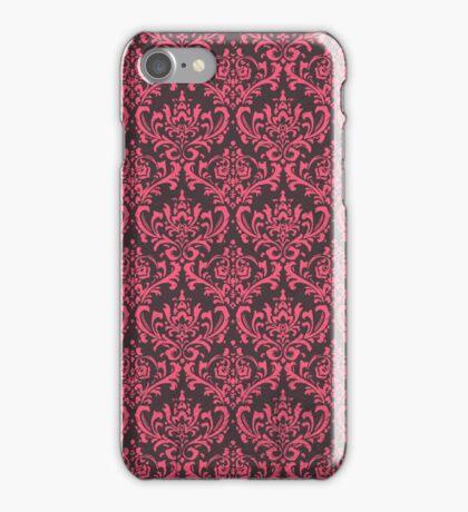Damask - Pink iPhone Case/Skin