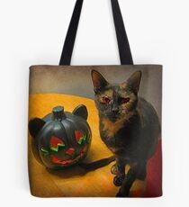 Happy Halloween Kitties Tote Bag