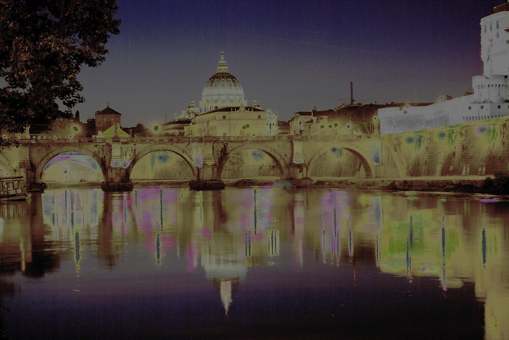Rome. Night and lights by salvo