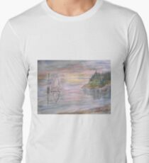 Calm Sunset Long Sleeve T-Shirt