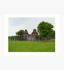 Shivan Temple - Gingee Fort Art Print
