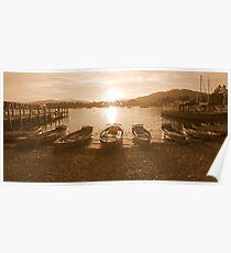 Waterhead Sunset Poster