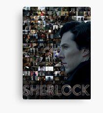 Sherlock BBC Screens Canvas Print