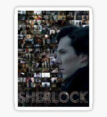 Sherlock BBC Screens Sticker