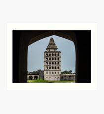 Kalayana Mahal - Gingee Fort Art Print