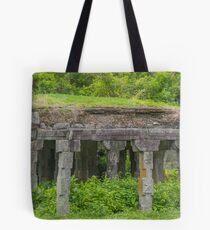 Abandoned Mandapam - Gingee Fort Tote Bag