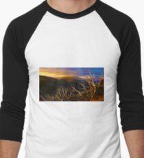0389 Mt Hotham Brush Men's Baseball ¾ T-Shirt