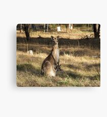 Oh Holy Mother Canvas Print