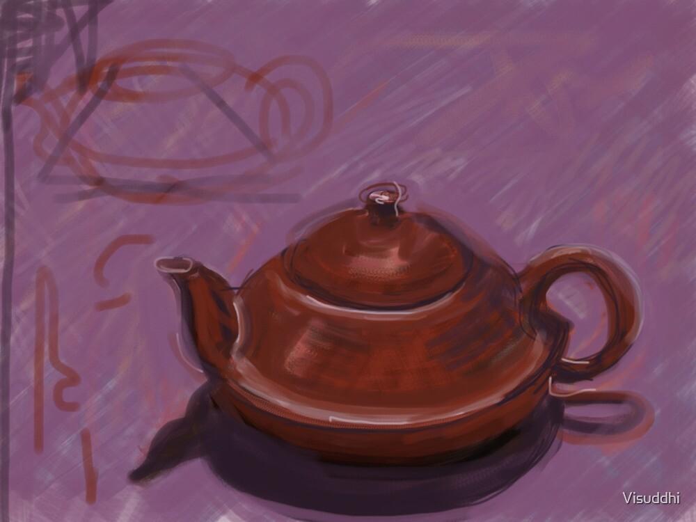 Terracotta Teapot by Visuddhi
