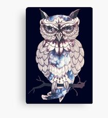 hoot hoot mofo Canvas Print