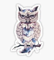 hoot hoot mofo Sticker