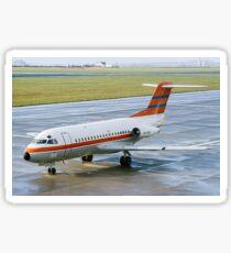 Fokker F28-1000 Fellowship PH-PBX Sticker