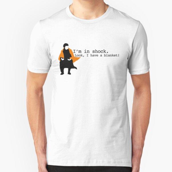 Sherlock Shock Blanket Slim Fit T-Shirt