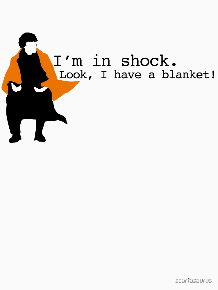 Sherlock Shock Blanket | Unisex T-Shirt