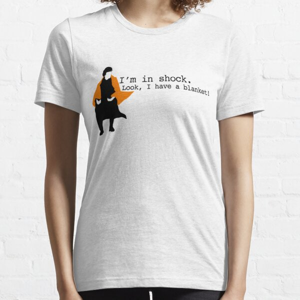 Manta de choque Sherlock Camiseta esencial