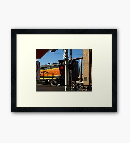 8th and Weber Crossing Framed Print