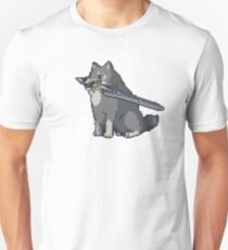 Pixel Great Grey Wolf Sif Unisex T-Shirt