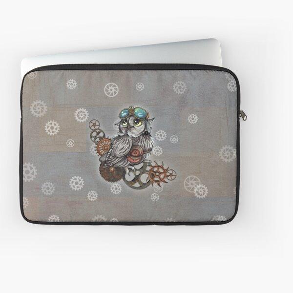 Steampunk Owl 2 Laptoptasche