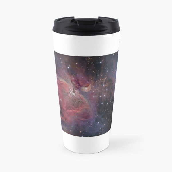 Messier#42 + 43 The Orion and Running Man Nebulas Travel Mug