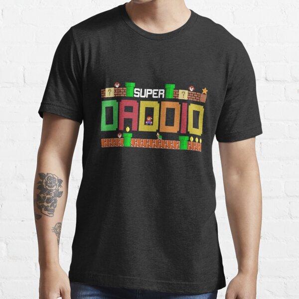 Super Dad Tshirt Super Daddio Gift Cute Funny Daddy Gift Essential T-Shirt