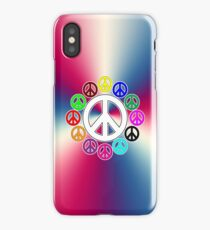 surrounded by peace iPhone Case/Skin