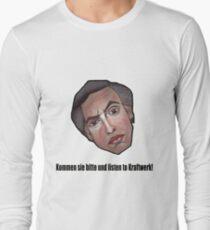 Kommen sie bitte und listen to Kraftwerk! - Alan Partridge Tee T-Shirt