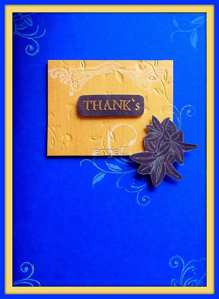 Thank's by Bernadine I. Rusted by ©The Creative  Minds