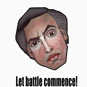 Let battle commence! - Alan Partridge Tee by YouRuddyGuys